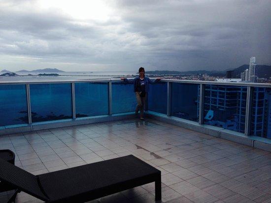 Hard Rock Hotel Panama Megapolis: View of terrace