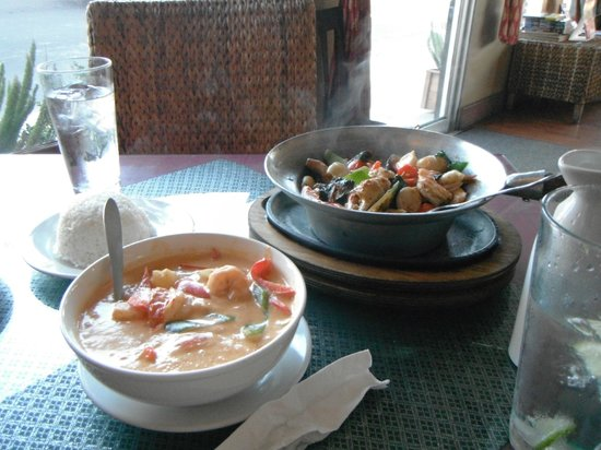 Thai Talay Restaurant: Nos mets
