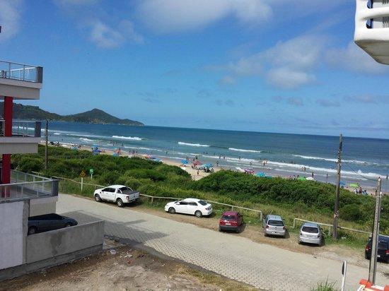 Pousada Aguas do Mariscal: Vista da Suíte Aroeira da Praia