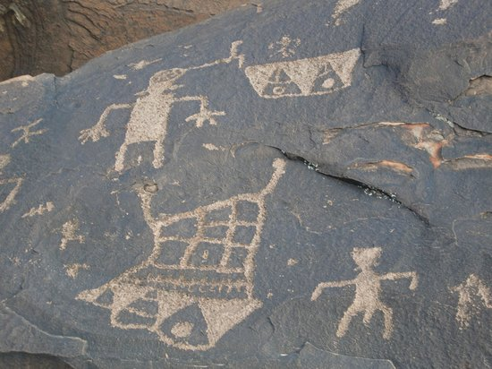 Red Mountain Resort: Petroglyphs