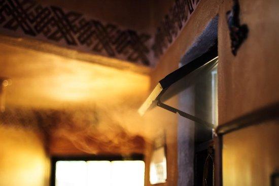 Casa de Dante Hostel: Vaporsito de una ducha caliente