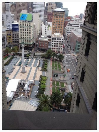 The Westin St. Francis San Francisco on Union Square: Our view!