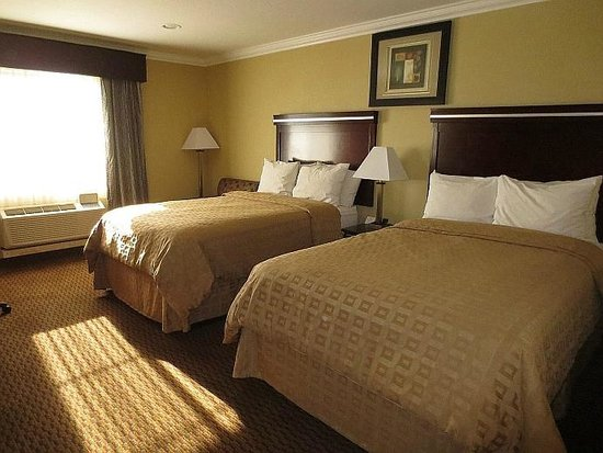 Econo Lodge Inn & Suites: Large comfy beds