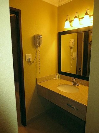 Econo Lodge Inn & Suites: Bathroom vanity