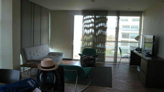Occidental Cartagena: living room