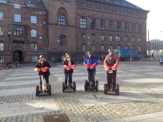 Segway Tours Copenhagen: valentines day 2014