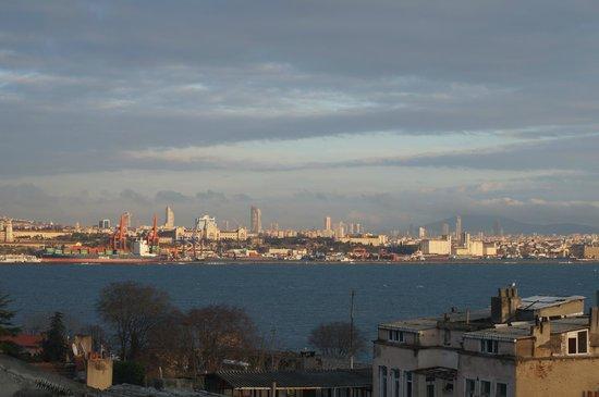Metropolis Hostel: View from roofbar