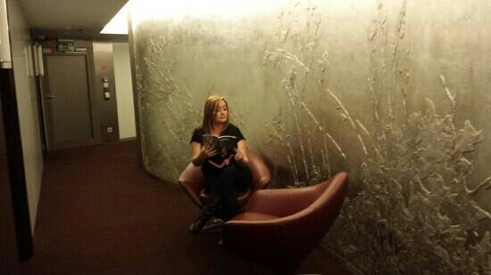 Niebieski Art Hotel & Spa : I loved the walls in the hotel!