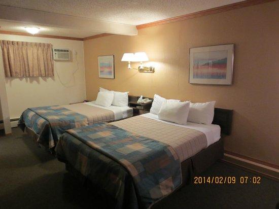 Canadas Best Value Inn: Room View