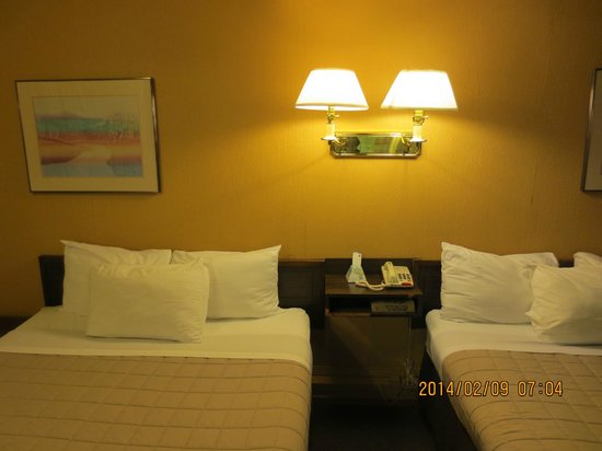 Canadas Best Value Inn: 2 queen bed in room