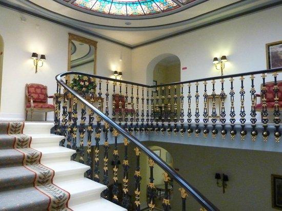 Hotel Avenida Palace: escada