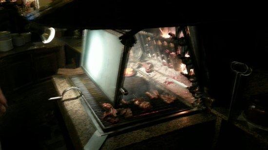 La Borda de l Avi: grill