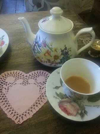 Thomas Oken Tea Rooms: Valentines