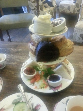 Thomas Oken Tea Rooms: Beautiful tea for two..