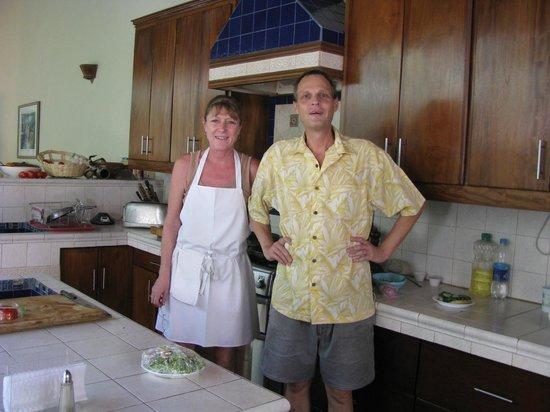 Restaurante El Garaje: Owners