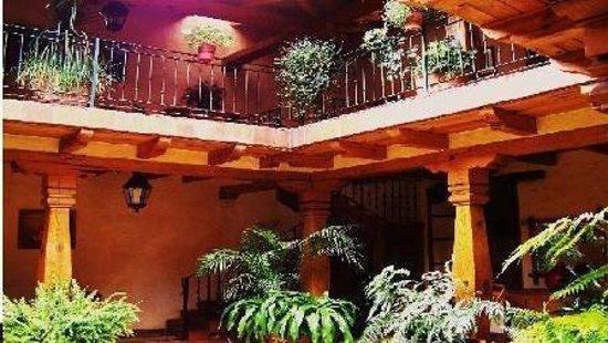 Hostal Casona de Manzano: Interior