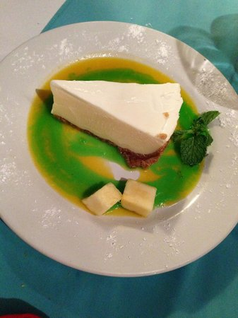 Blue Water Grill : Key Lime Pie