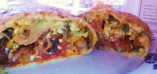 Burger Barn: breakfast burrito fri-sat 7am-11am