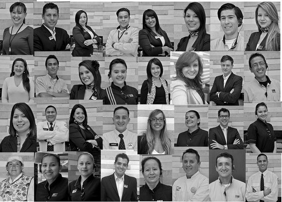 """Holiday Inn Express Bogota: Our team: """"Always at your service"""""""