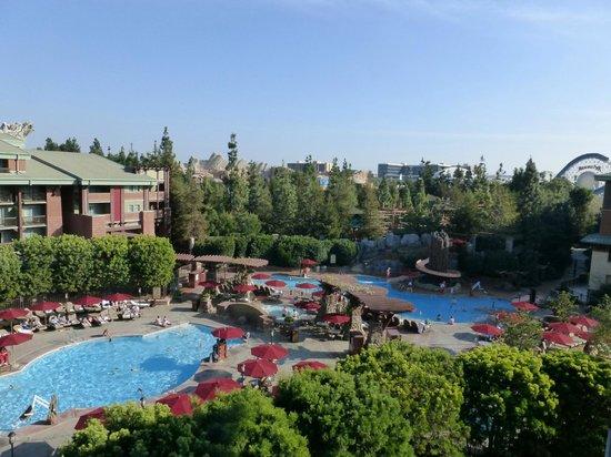 Disney's Grand Californian Hotel & Spa: Amazing View