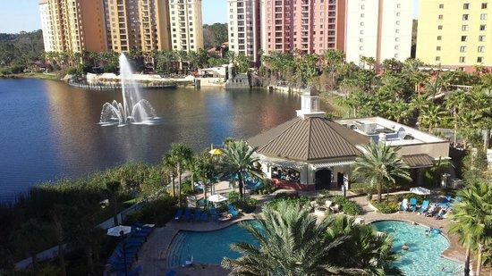 Wyndham Grand Orlando Resort Bonnet Creek: Vista de mi Habitación
