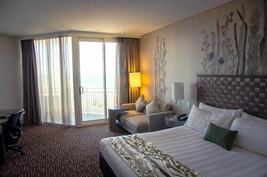 Rendezvous Hotel Perth Scarborough: Room on 25th floor