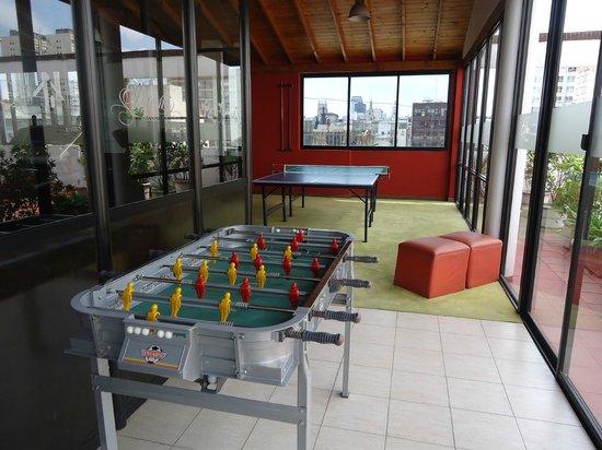 Duomi Plaza Hotel: Sala de juegos