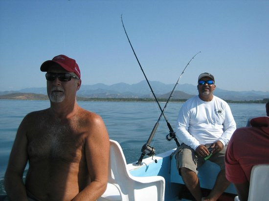 Julio's Tour & Fishing Guide Services: another tough day in paradise