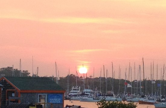 Great Salt Pond: Sunset from the Boat Basin, Block Island