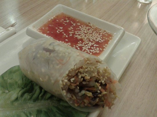 Veggie Planet : Spring roll. I love this!
