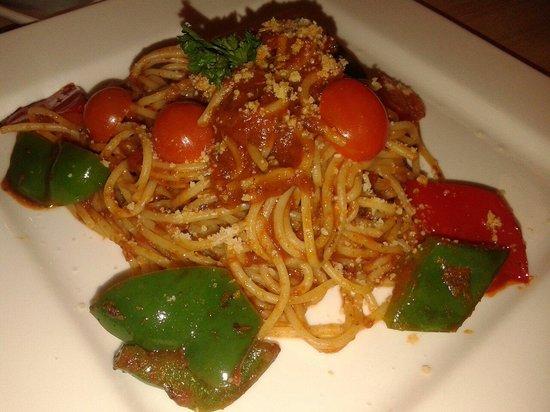 Veggie Planet: One of their spaghetti.