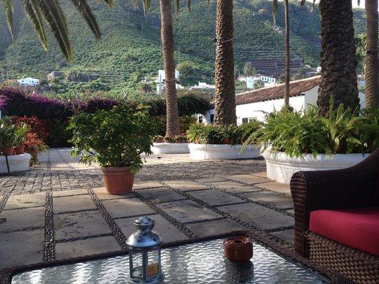 Hotel Rural El Patio: The beautiful patio area