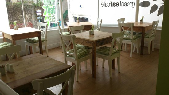Green Leaf Cafe Torquay: Upstairs seating