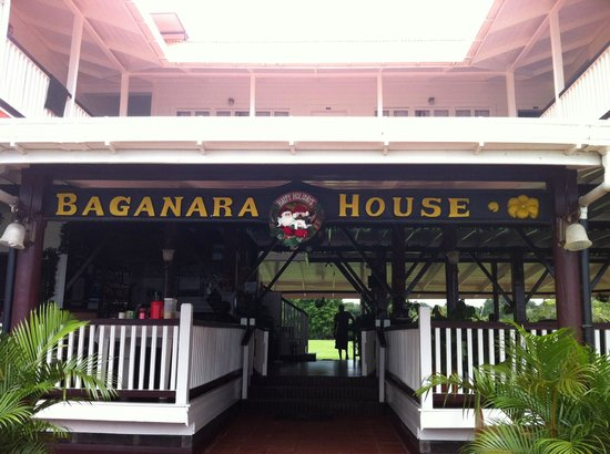 Baganara Island Resort: Baganara House Restaurant