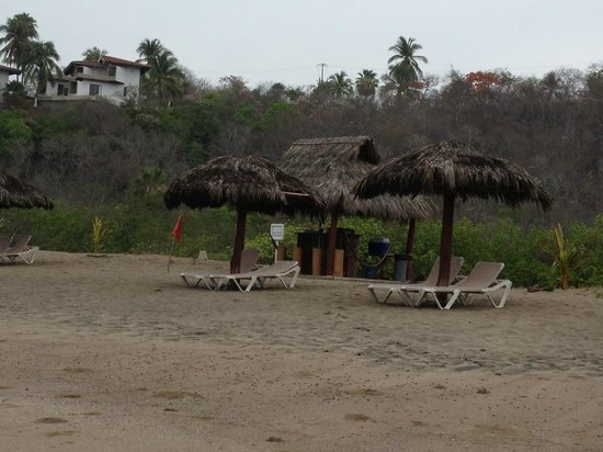 Punta Serena: Playa descuidada