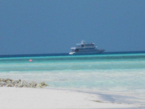 Fun Island Resort: panorama dalla spiaggia