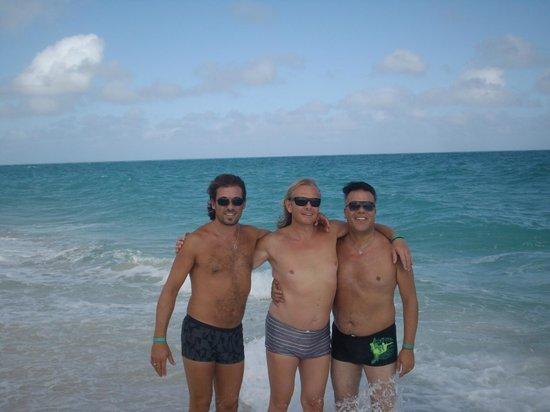 Sol Cayo Santa Maria: En el mar