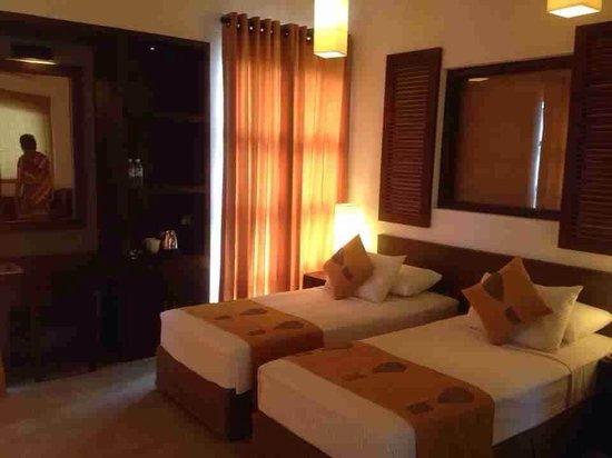 Hotel Chandrika: Our room #my mum captured ;)