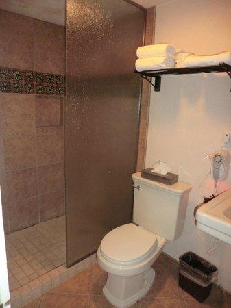 The Historic Taos Inn: bathroom