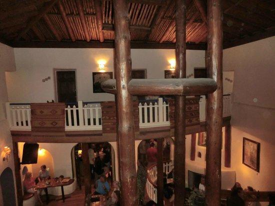 The Historic Taos Inn: bar area in lobby