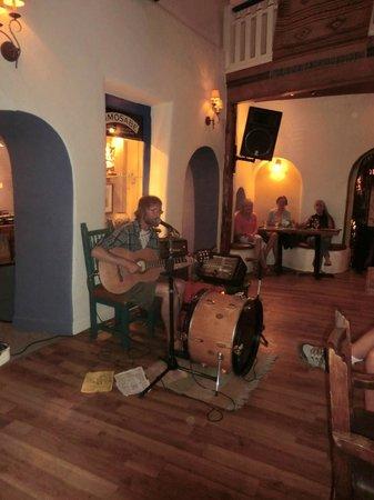 The Historic Taos Inn: musician