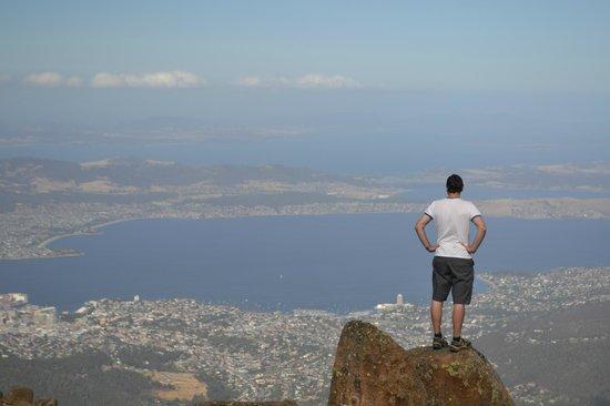 Mount Wellington : On top of the world