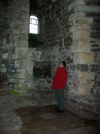 Doune Castle: IN its original state
