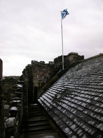 Doune Castle: Fantastic views from the top
