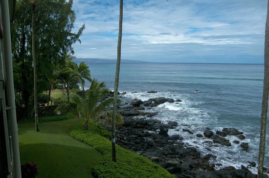 Noelani Condominium Resort : Such a lovely view from the lanai