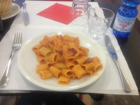 Guily's Cafe Paolini Giuliana: mezzamanica pasta