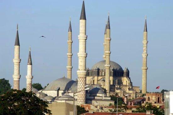 Selimiye Mosque: kapıkule'den gelirken Selimiye...