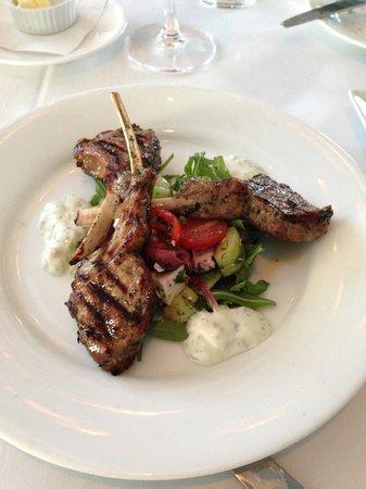 Vintage Bar & Grill: Baby Lamb Chops