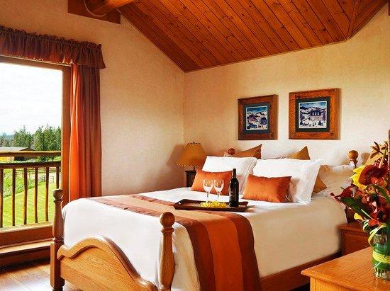 Echo Valley Ranch & Spa: Lodge room