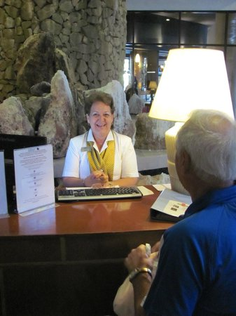 Melia Las Americas: Need an extra dining reservation?  Just ask Angela.
